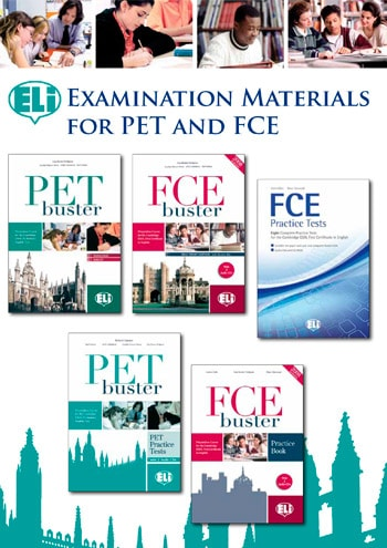 Examination materials for PET and FCE